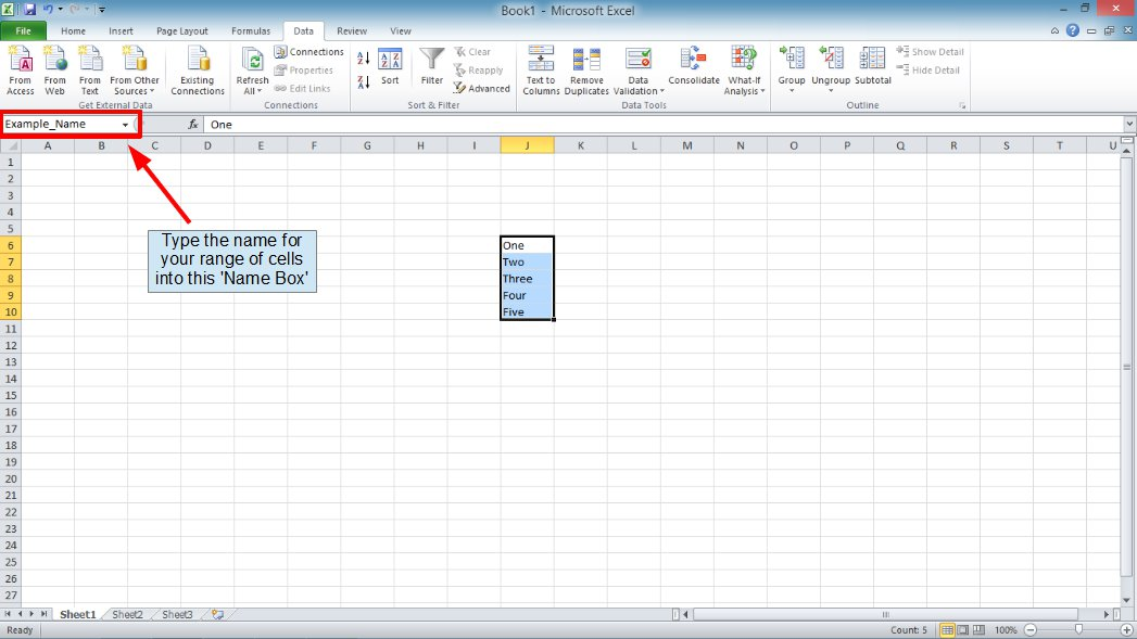 how to create a validation rule in excel